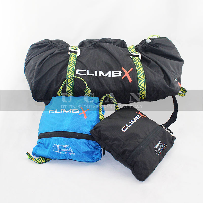 Details About 28l Climbing Rope Bag Backpack Pack Pouch W Tarp Mat Climbx Rock Outdoor Black