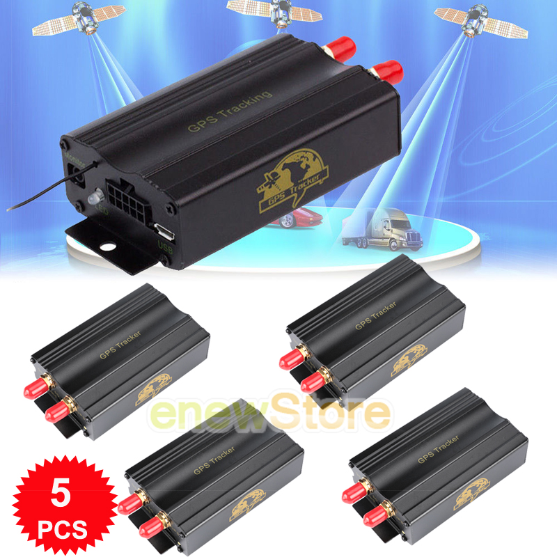 Details about Lot Vehicle Car GPS SMS GPRS Tracker Real Time Tracking  Device Syatem Remote USA