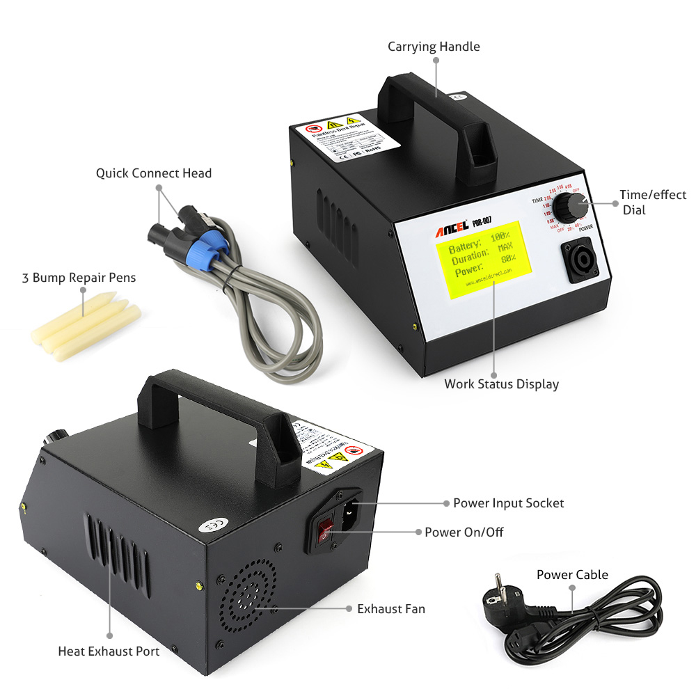 Hotbox Induction Heater Pdr007 Paintless Dent Car Metal