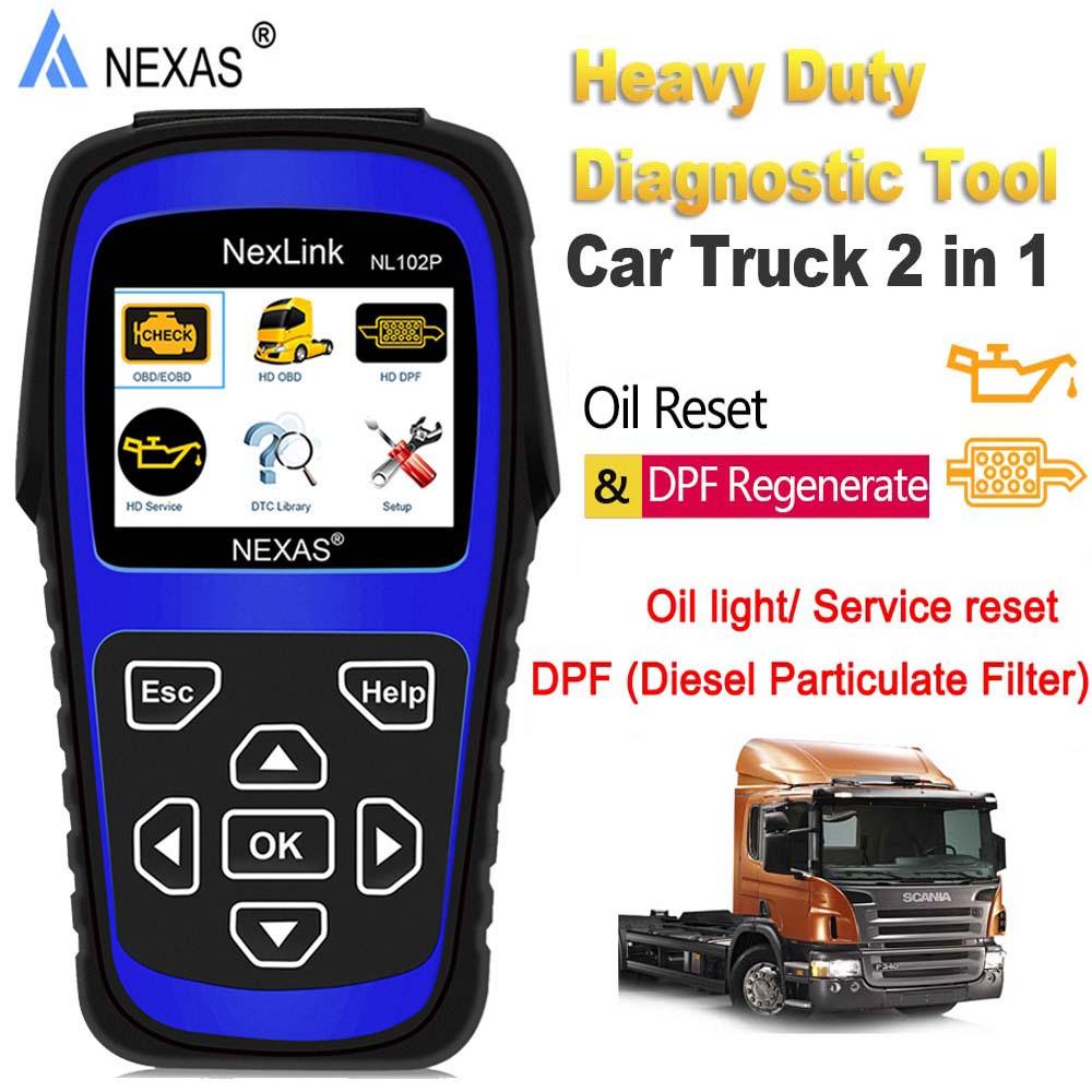 Details about Heavy Duty Truck Diagnostic Scanner Diesel DPF Regen For  COMMINS VOLVO ISUZU