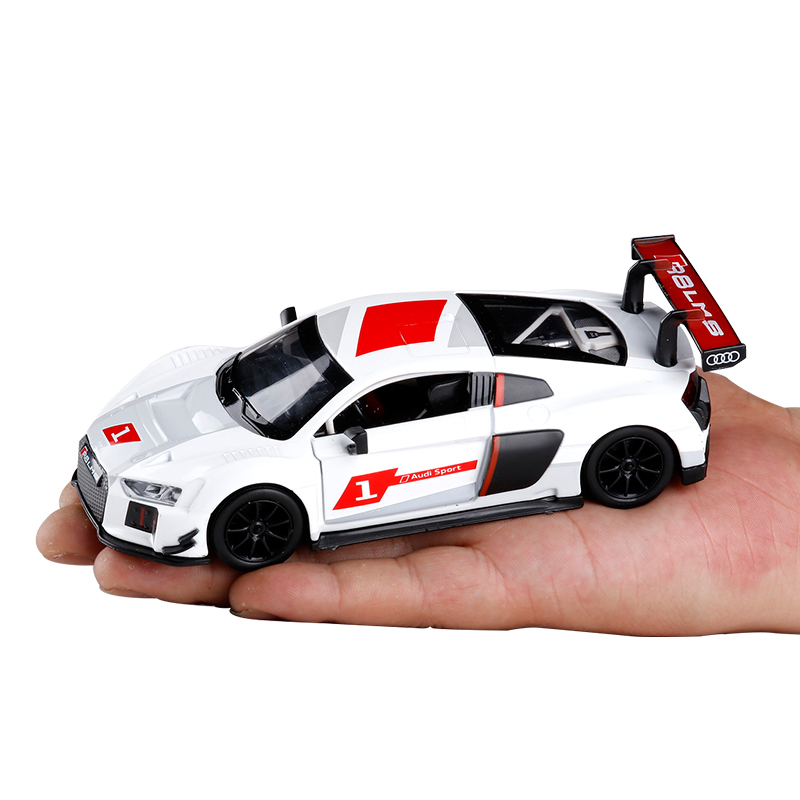 Audi R8 LMS Sport Model Cars SoundLight 132 Alloy Diecast Gifts