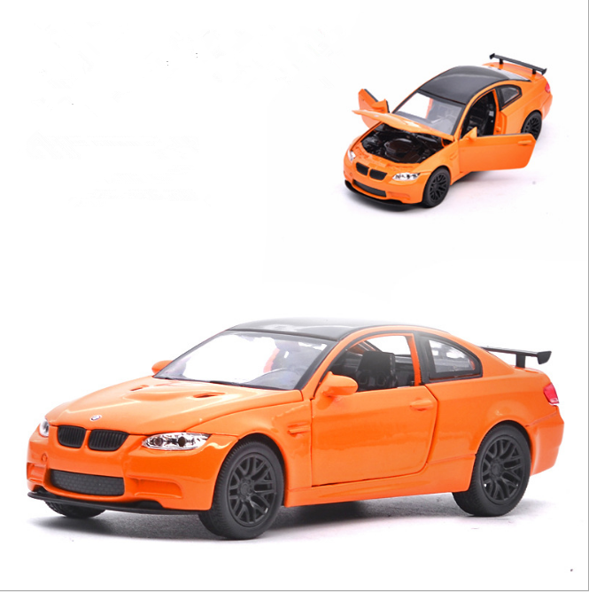 Bmw M3 Gts: BMW M3 GTS Model Cars 1:32 Toys Sound&Light Collection