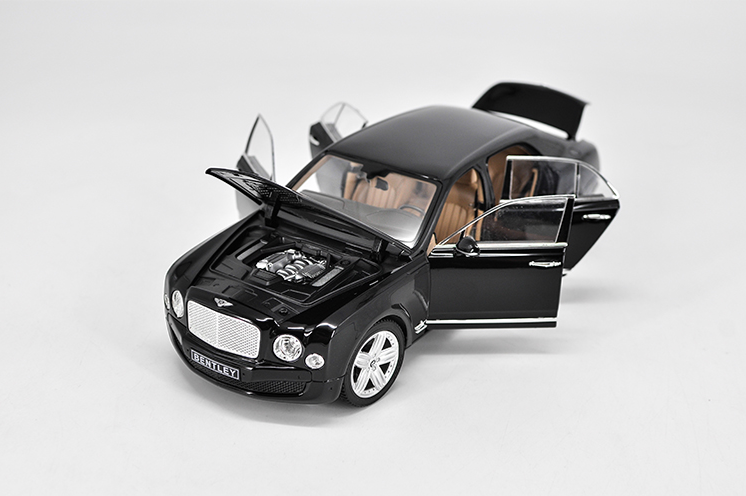 Bentley Mulsanne Model Cars 118 Open four doors Collection Alloy Diecast Black & Bentley Mulsanne Model Cars 1:18 Open four doors Collection Alloy ...