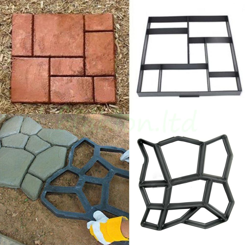 Paving stone grunge template masonry paving stock vector (royalty.