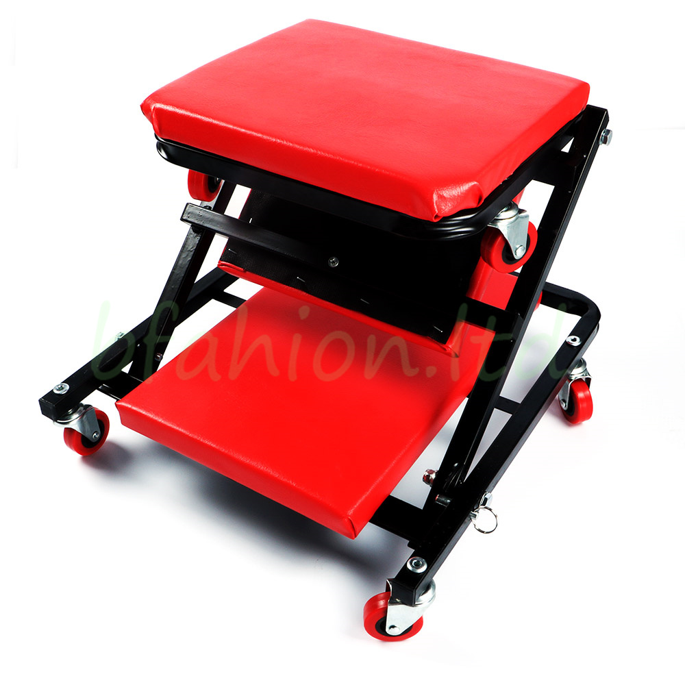 Workshop Creeper Board Rolling Under Car Van Crawler Stool Chair Mechanic Garage  sc 1 st  eBay & Workshop Creeper Board Rolling Under Car Van Crawler Stool Chair ... islam-shia.org