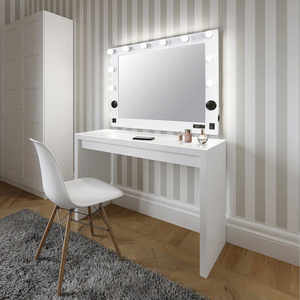 Large LED Touch Lighted Bathroom Vanity Mirror / Wall Mirror for ...