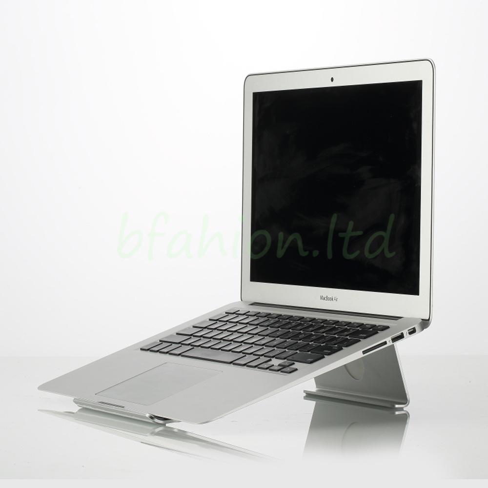 aluminum laptop stand cooling desk riser mount holder for. Black Bedroom Furniture Sets. Home Design Ideas