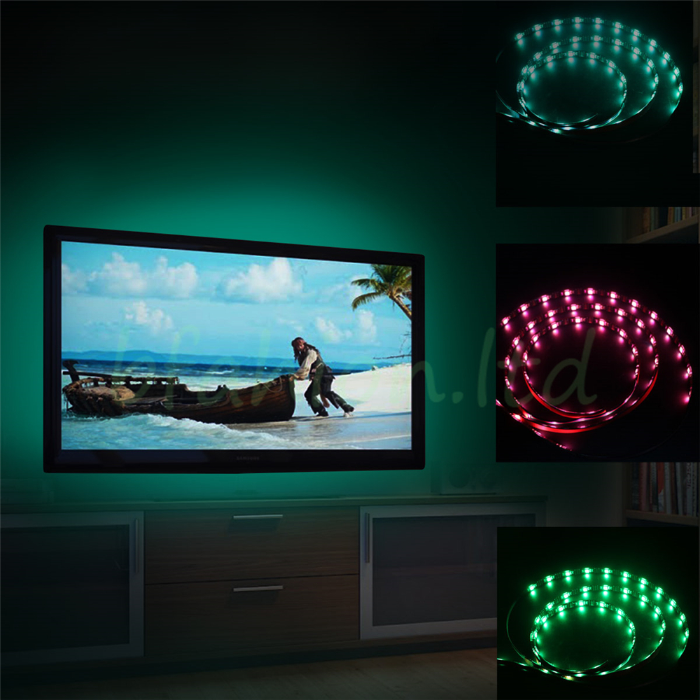 Usb led strip lights tv back light rgb colour changing for samsung usb led strip lights tv back light rgb colour changing for samsung sony lg sharp aloadofball Choice Image