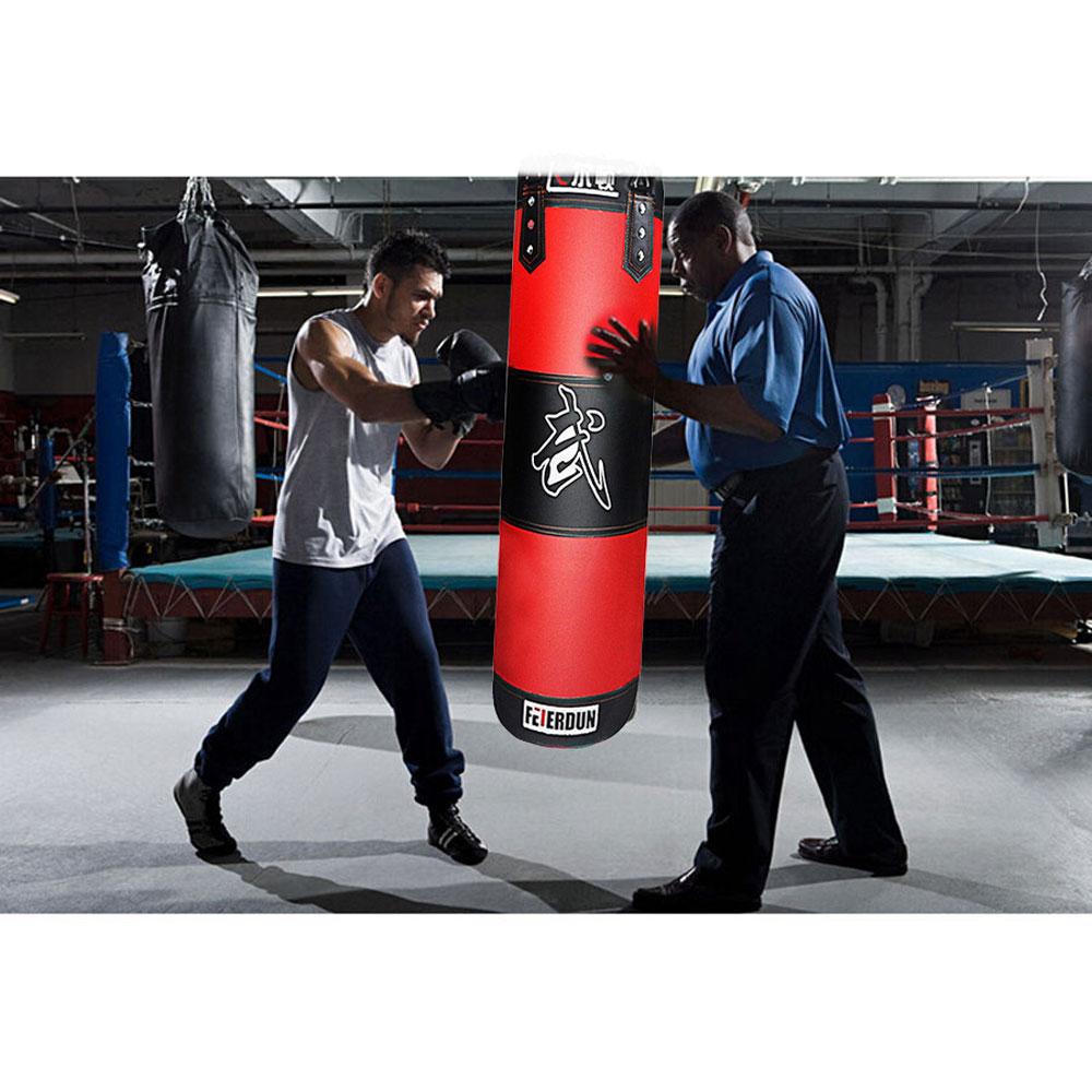 Heavy Boxing Punching Bag Training Gloves Speed Set