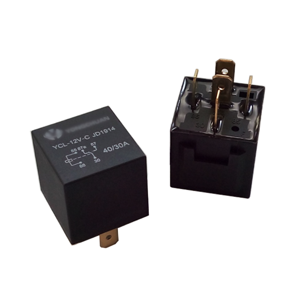 5 Pack  12v 30  40 Amp Spdt Automotive Relay With 5 Wires