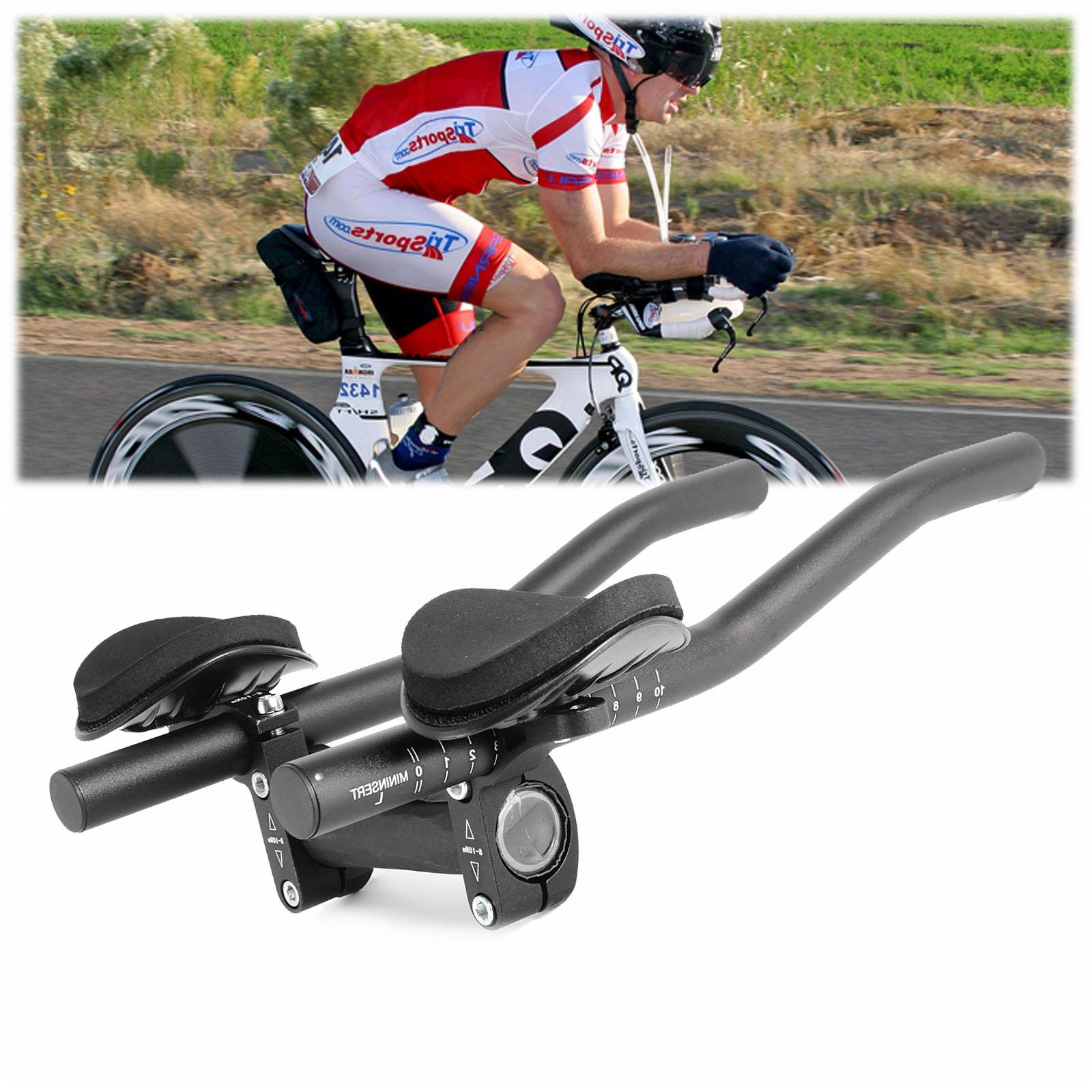 Road Bike Bicycle Alloy Triathlon Aero Rest Handle Bar Handlebar 31.8mm Comfy