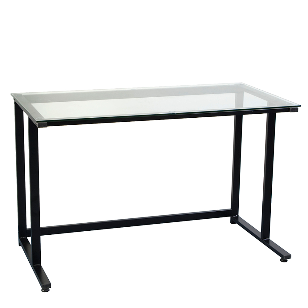 Modern simple Stalinite Corner Computer Desk Home Office Study Table ...