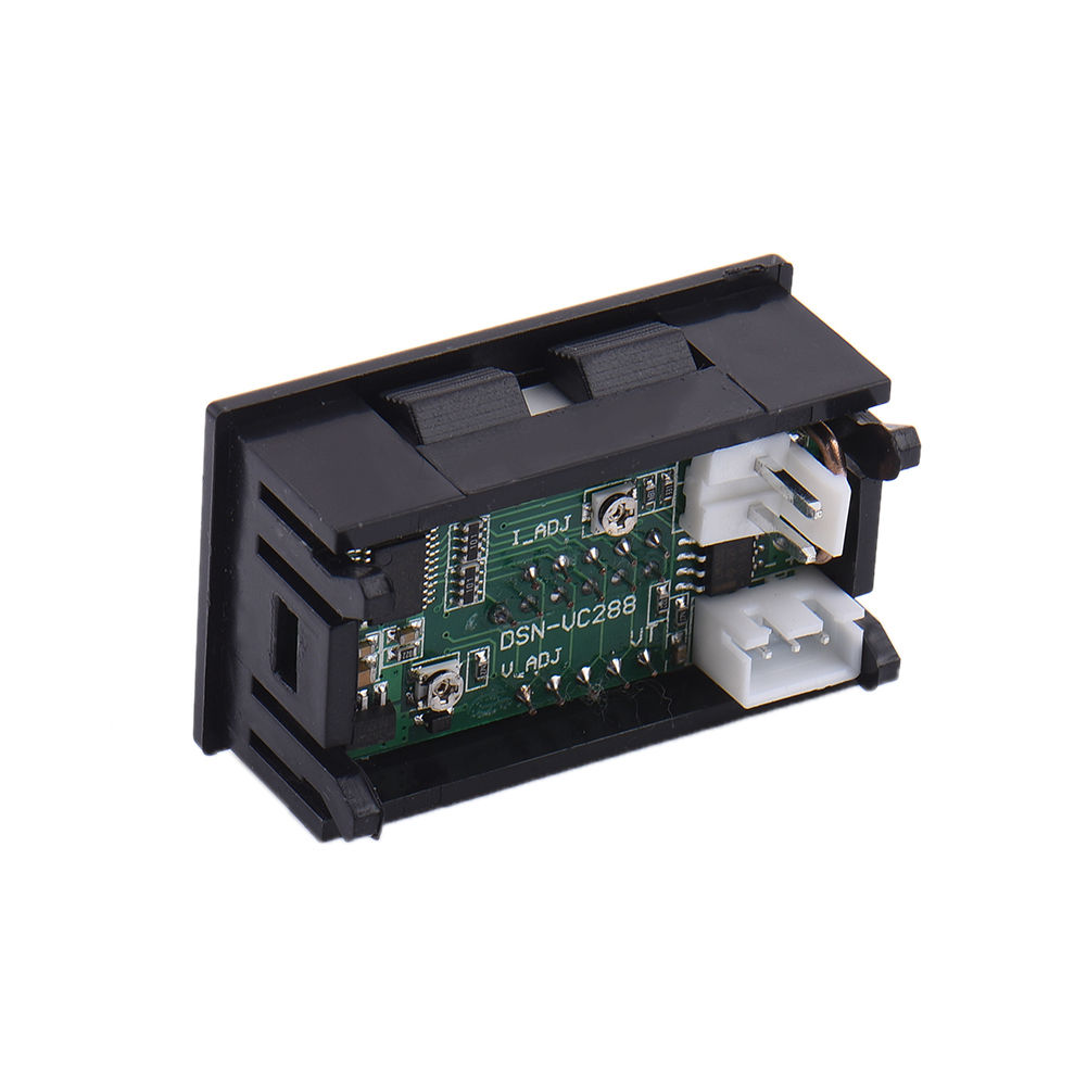 Small Amp Meter : Mini dc v a digital voltmeter ammeter led volt amp