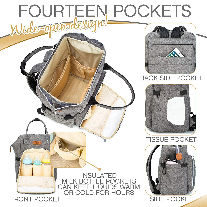 Wickeltasche Pflegetasche Windeltasche Babytasche Mamabeutel Nappy Wasserdicht
