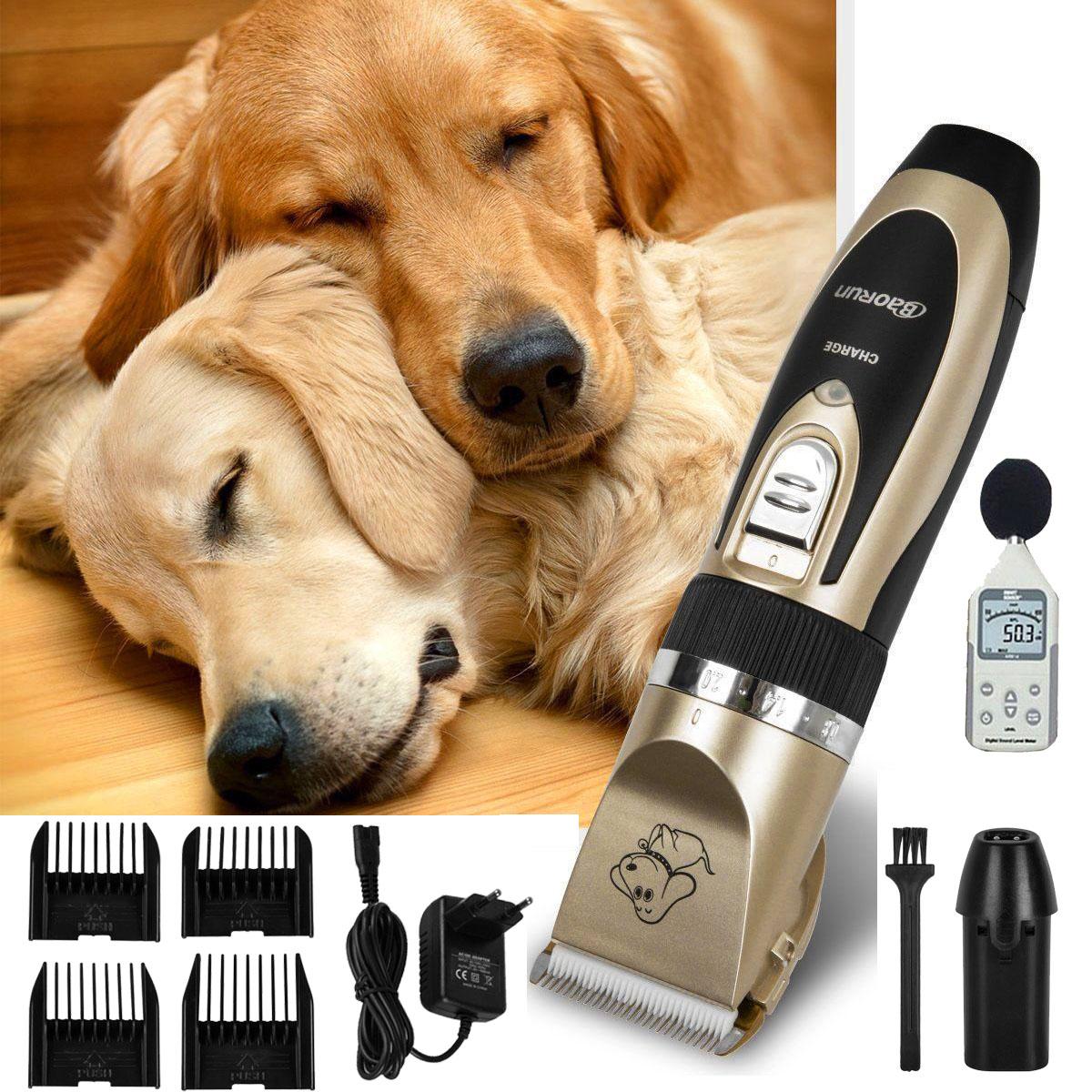 profi tier haarschneider hunde katze akku keramik schermaschine rasierer trimmer ebay. Black Bedroom Furniture Sets. Home Design Ideas