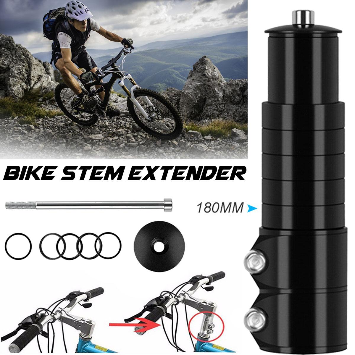 Bicycle Cycle Bike Heads Up Stem Riser Adaptor Handlebar Fork rise up Extender