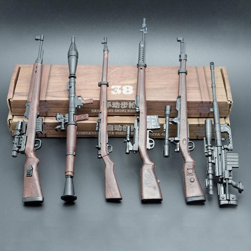 1:6 Scale Battle GUN WWII Weapon Model Karabiner 98k KAR 98K