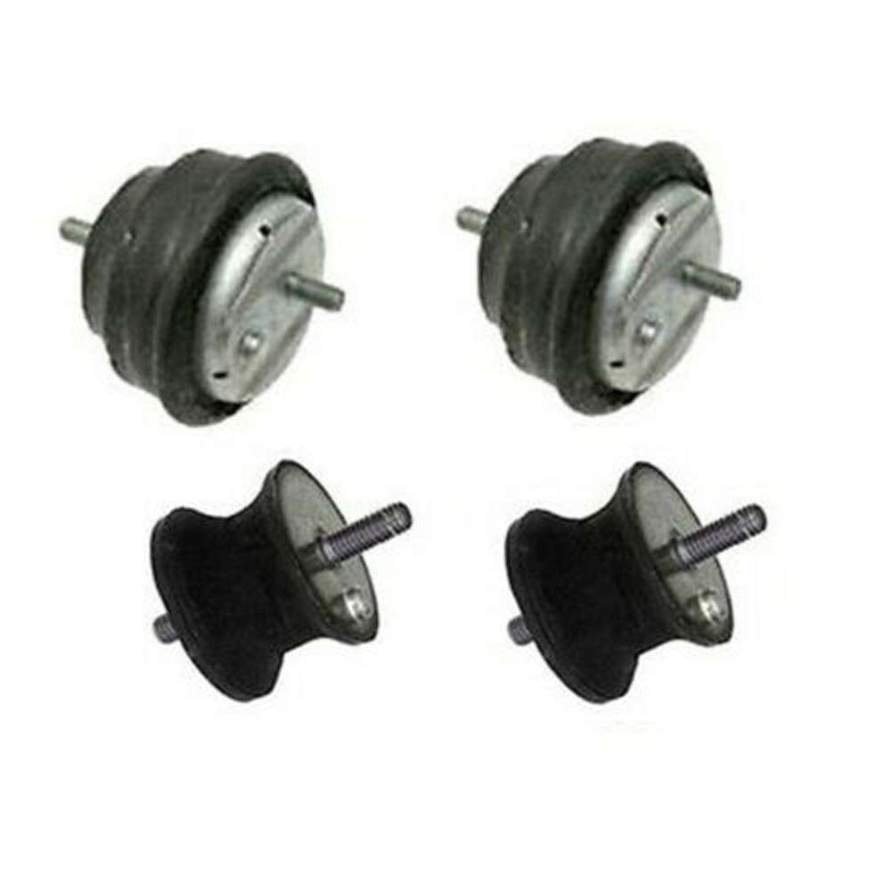 ENGINE MOTOR TRANSMISSION MOUNT MOUNTS SET OF 4 for BMW E36 E46 LEFT RIGHT