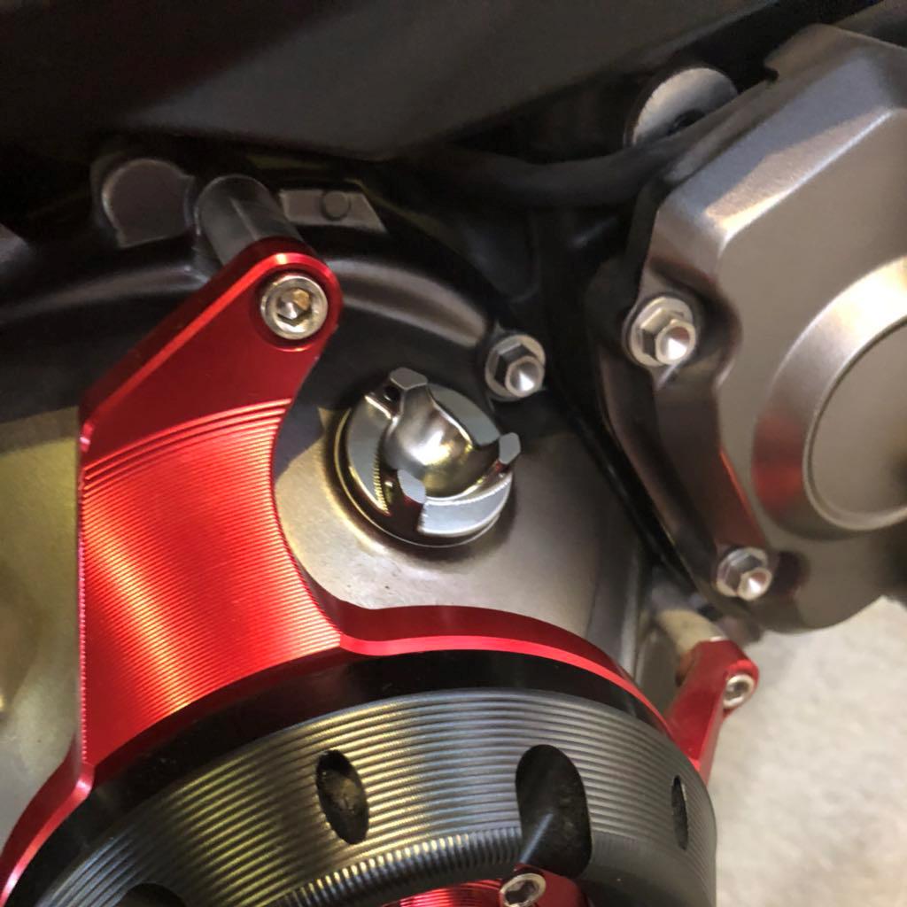 Black Oil Filler Cap Screw For Ninja 250 650 ER6N CBR600RR BENELLI 600 NC 750 X