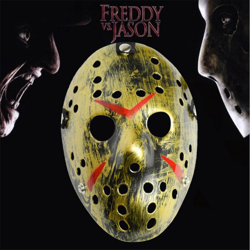 Halloween Freddy Krueger Vs Jason Voorhees Prop Hockey Mask Scary