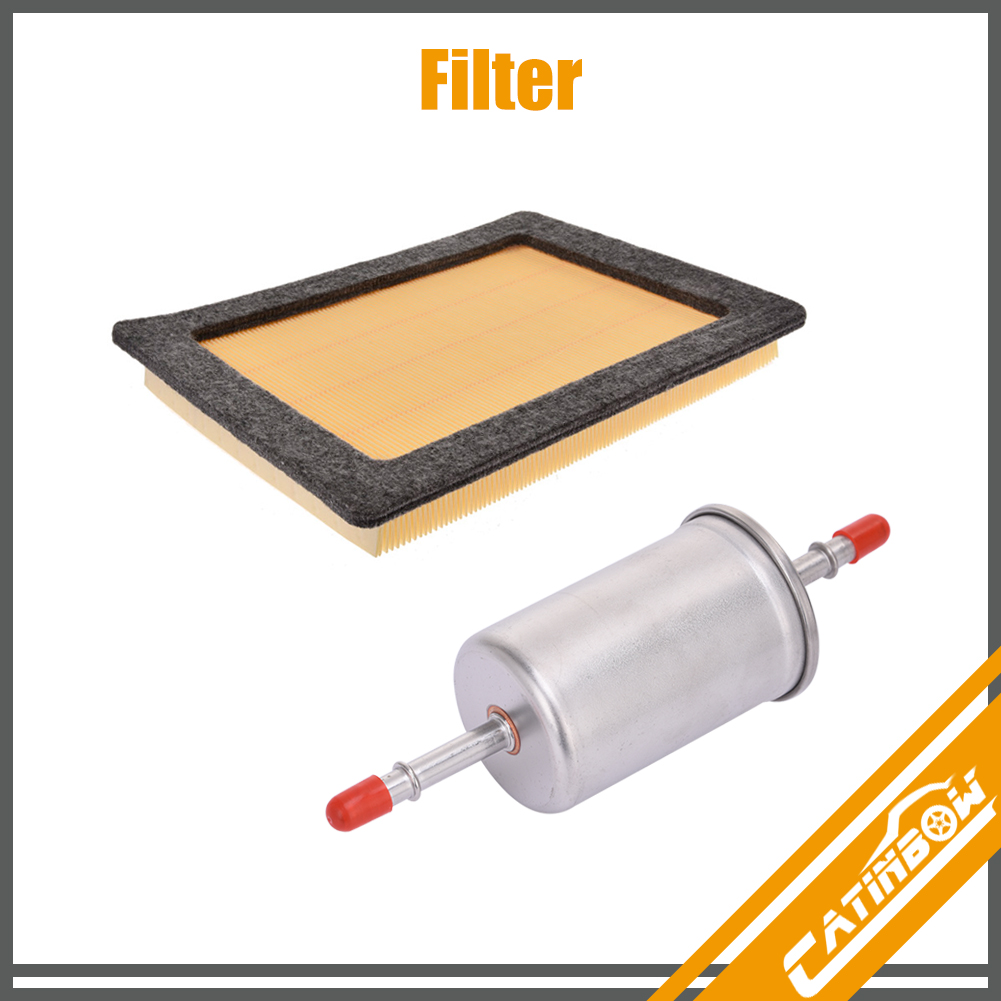 Filters Set | Air Filter + Fuel Filter Kit For 2005 2006 EXPEDITION 5.4L  05-06