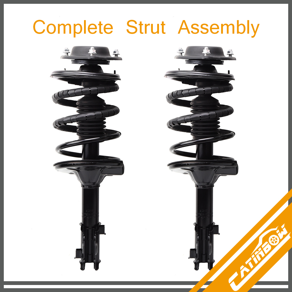 For 2001-2003 Acura CL Front Quick Complete Struts /& Coil Springs Assembly × 2