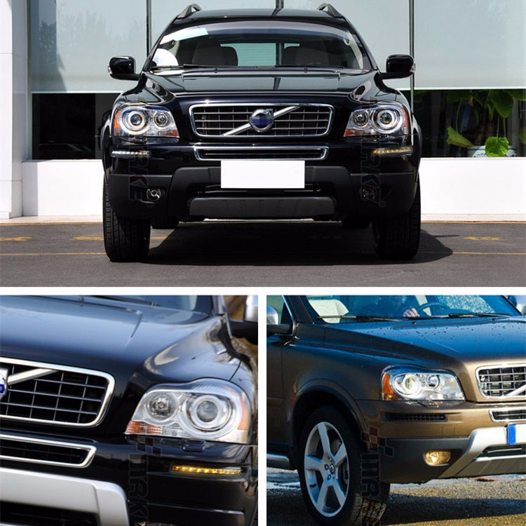 2X For Volvo XC90 2007- 2013 Daytime Running Light DRL