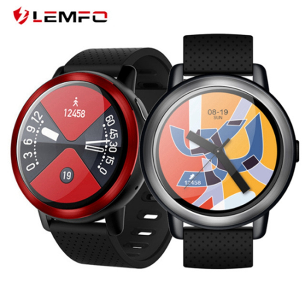 5cca4b95d LEMFO LEM 8 WiFi 4G Smart Watch 2+16GB Android 7.1 Quad Core GPS SIM Phone  1.39