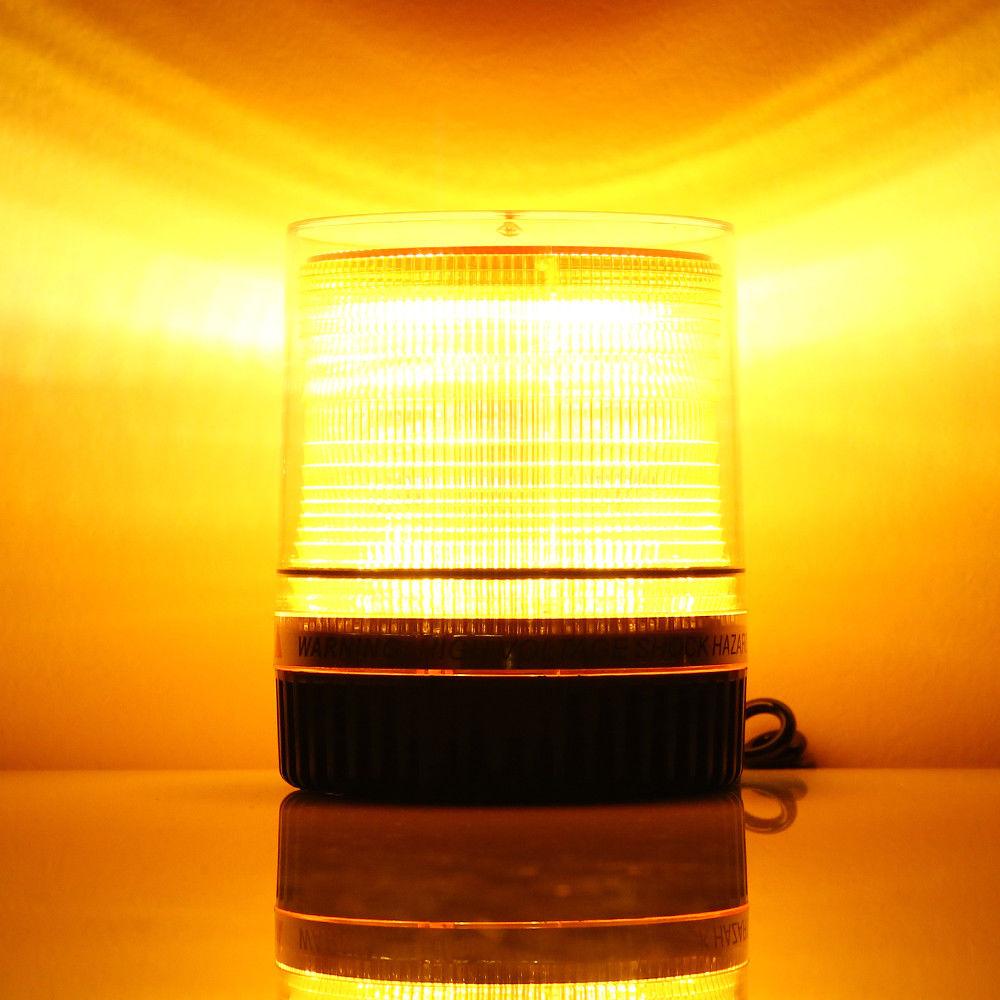 10w Led Amber Vehicle Beacon Flash Warning Strobe