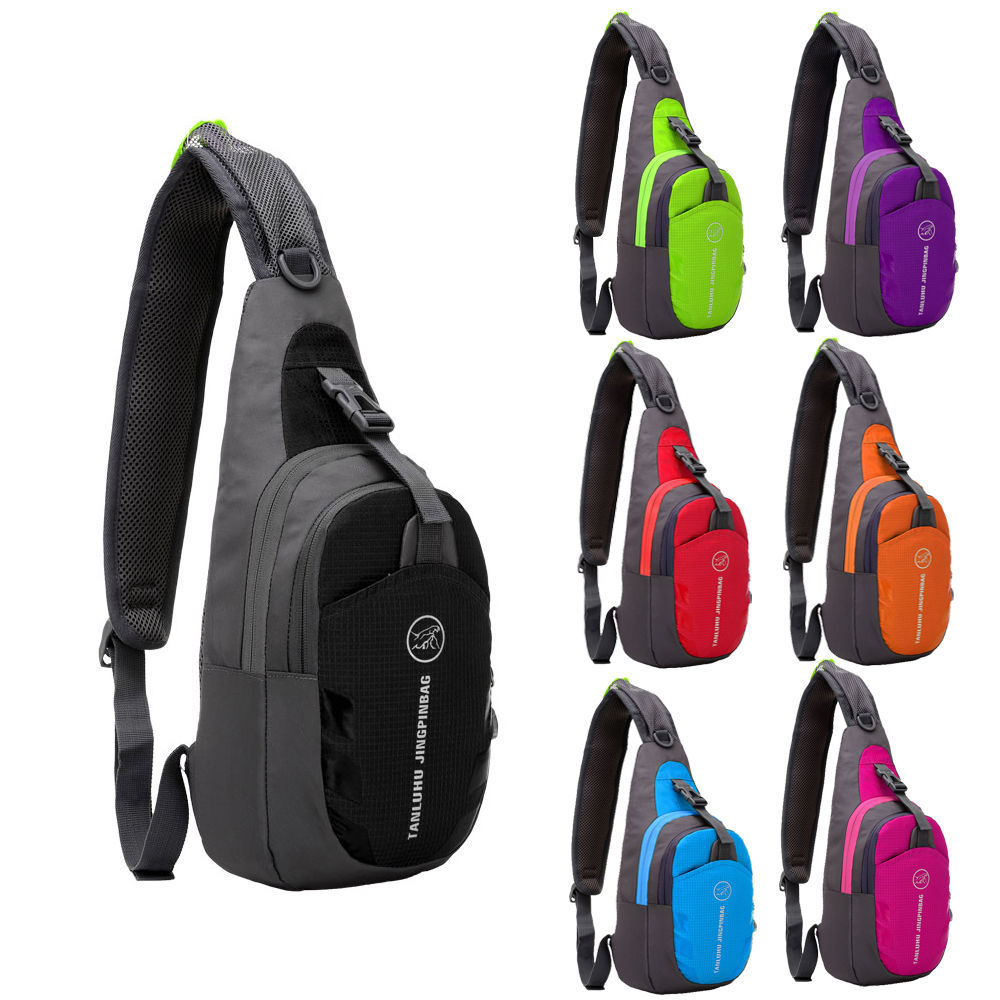 8a41bb81bf You may also like. Durable Nylon Small Chest Bag Travel Sport Shoulder Bag  Sling Backpack wholesale