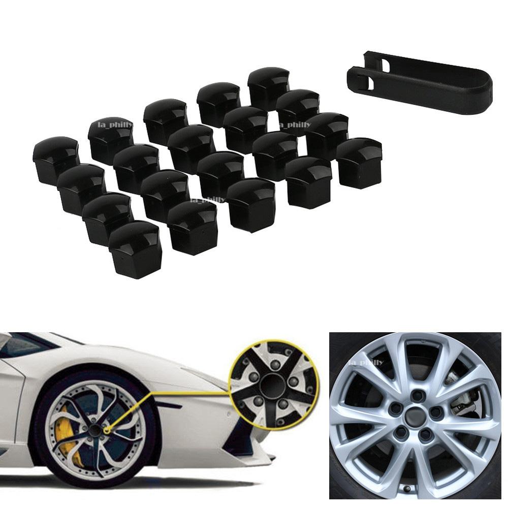 BLACK lug//lugs covers for AUDI wheels FREE SHIPPING