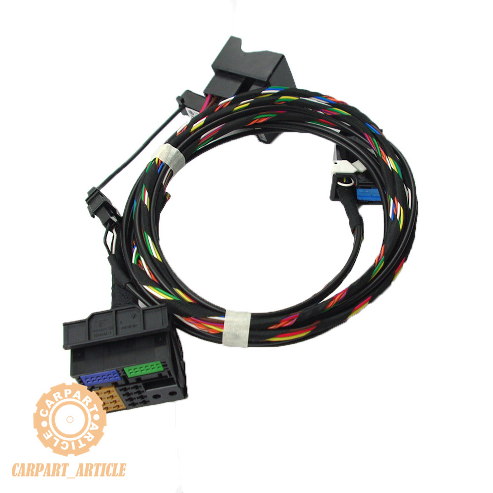 9w2 9w7 9zz Bluetooth Wiring Harness Cable Microphone For Vw Eos Golf Wire Rcd510