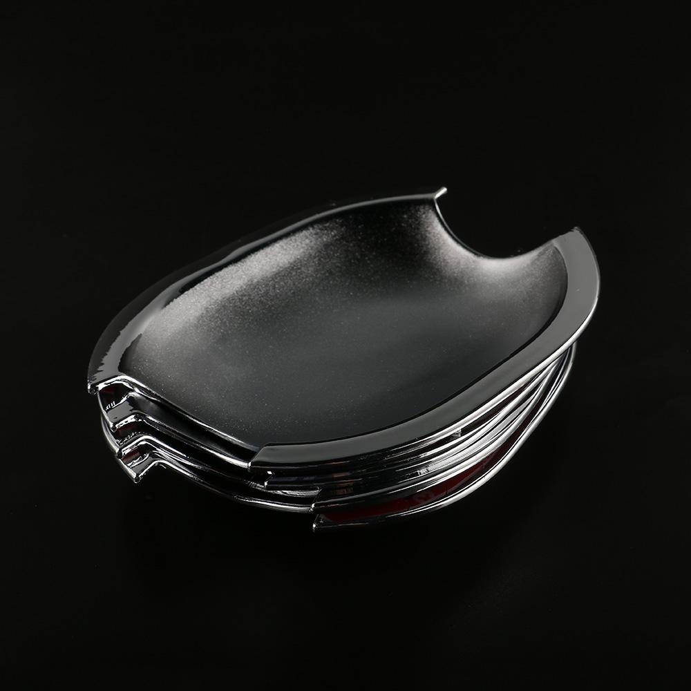 4X Chrome Door Handle Cup Bowl Bezel Trim For KIA Optima