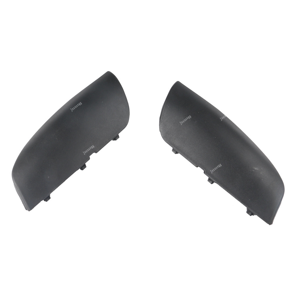 For Porshe Cayenne 2007-2010 Front Bumper LH Tow Hook Cover Cap Black Trim New