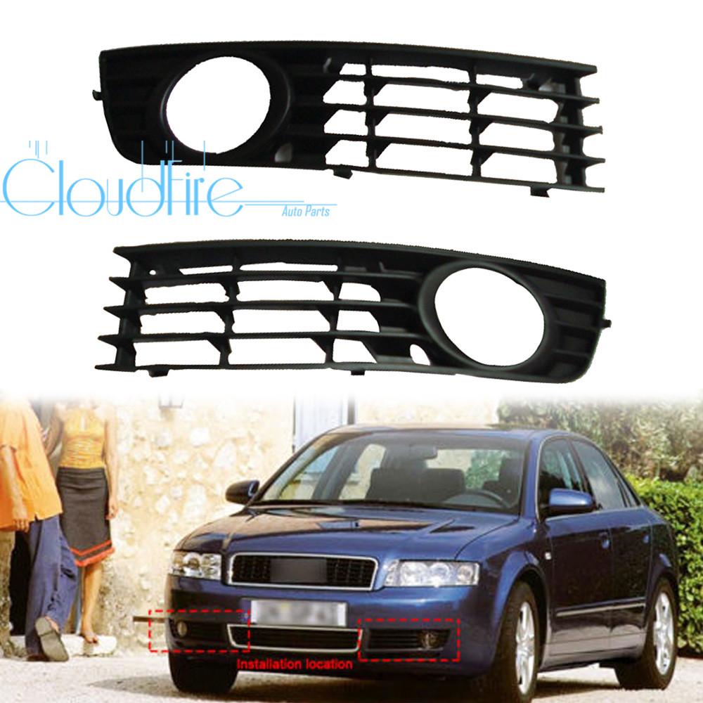 Stoßstange Gitter Für Audi A4 SLine B7 Grill Nebelscheinwerfer Blende 8E0807681F