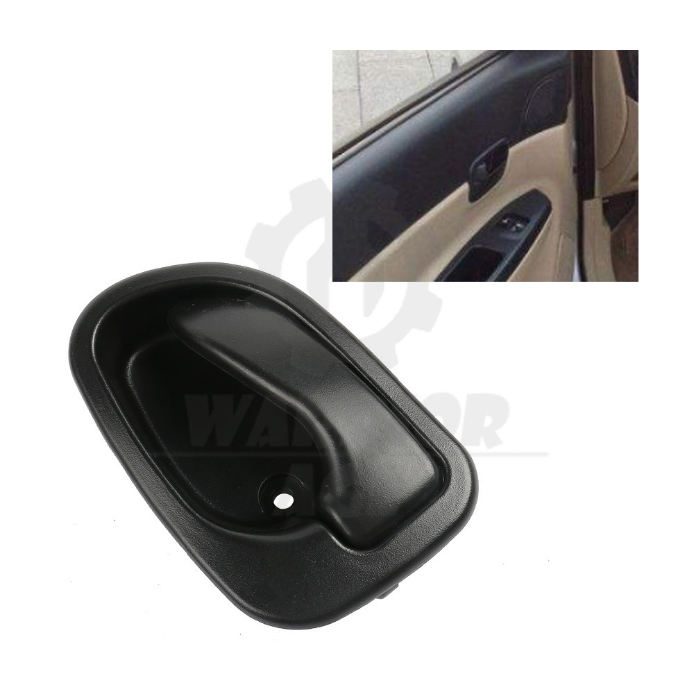 For 95-99 Hyundai Accent Inside Front Rear Left Side Driver Black Door Handle