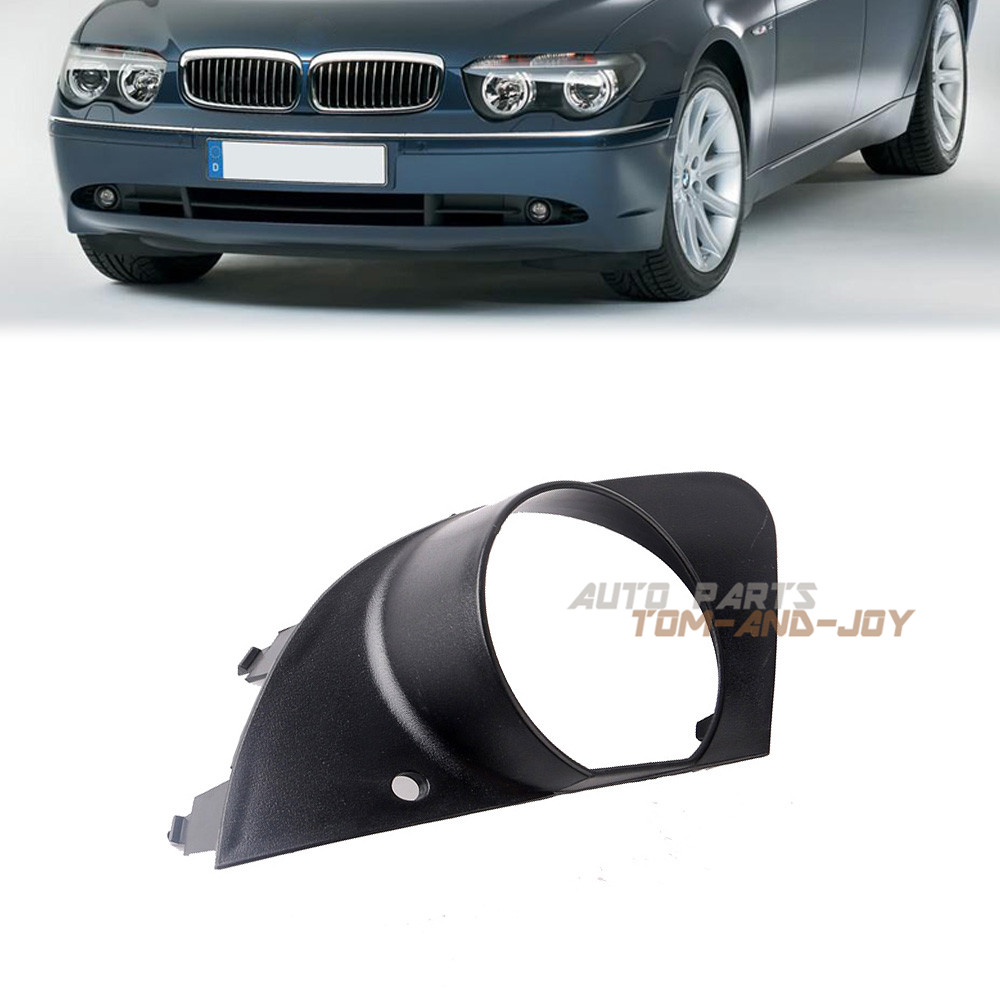 Front Left Fog Light Trim Bumper Lamp Cover for BMW E65 E66 750i 760Li 2006-2008