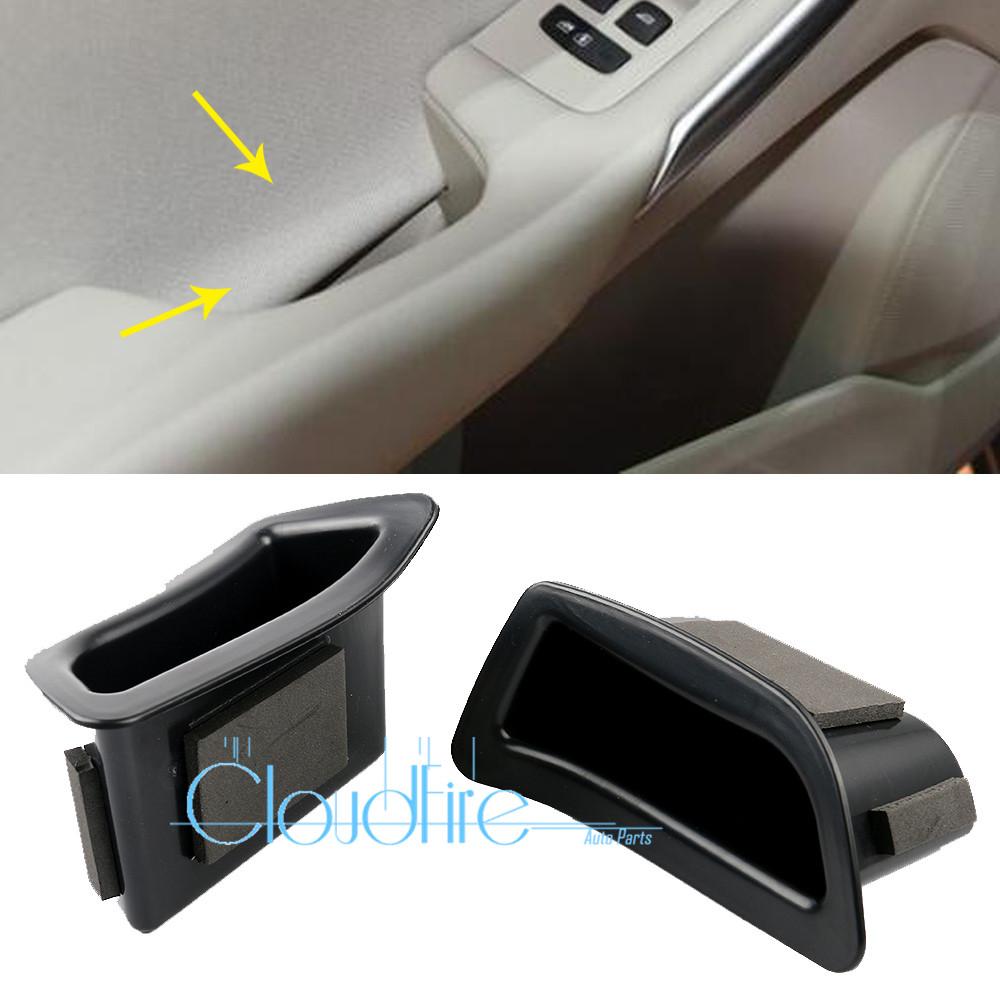 x2 Innentürgriff Lagerung Aufbewahrungsbox Vorne Für Mercedes Benz W212 E Class