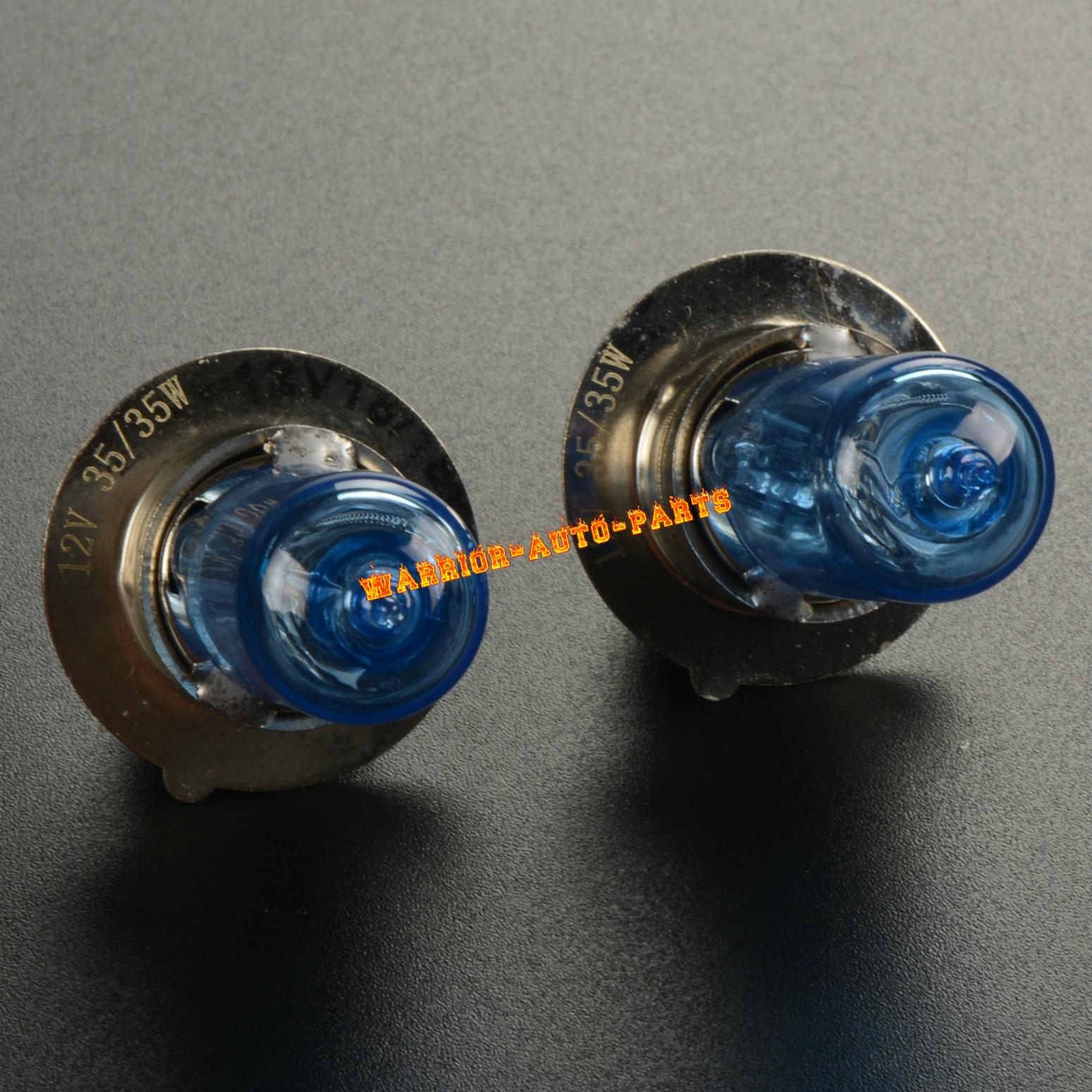 For Honda Sportrax 300 400 EX Super White Headlight Bulbs ATV 1999 2000 01 02 x2
