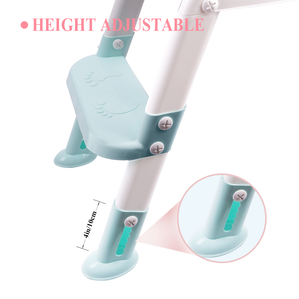Orcish Kids Potty Training Seat With Step Stool Ladder For
