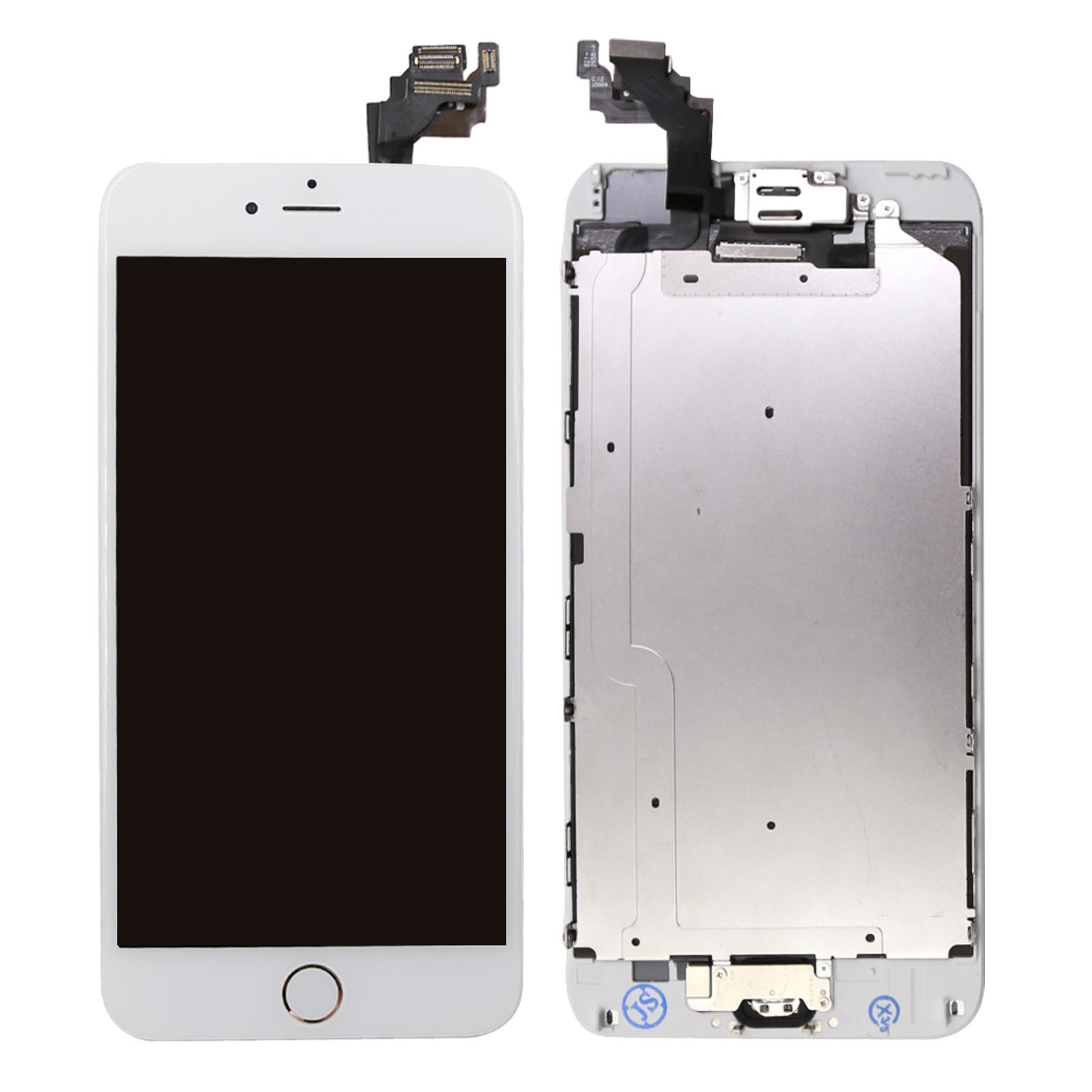 for iphone 6 plus digitizer complete screen replacement. Black Bedroom Furniture Sets. Home Design Ideas