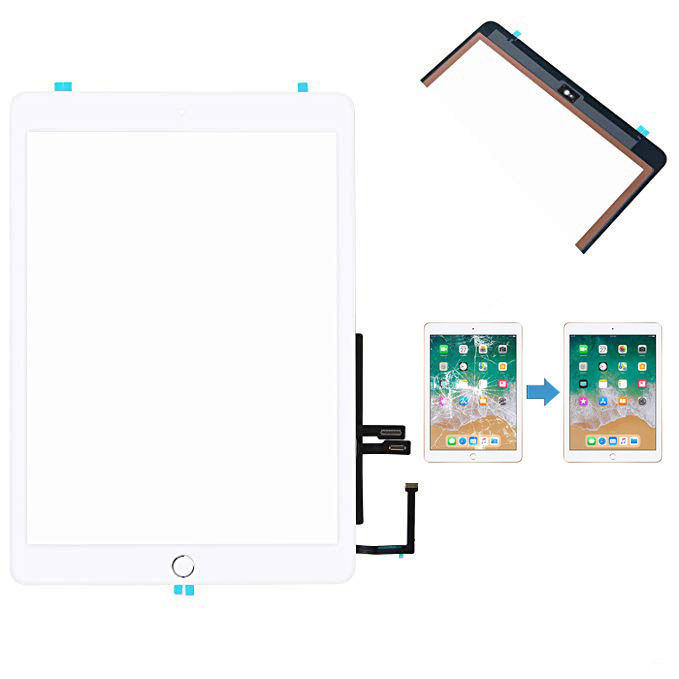 "NY Touch Screen Digitizer Replacement for 9.7/"" iPad 6 6th Gen 2018 A1893 A1954"