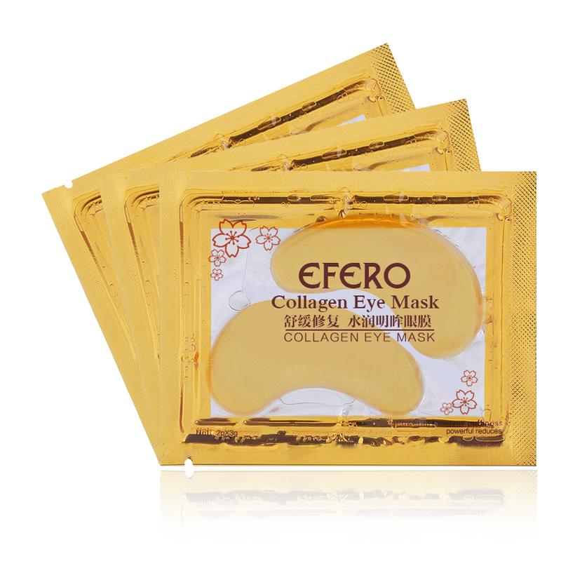 1 50pack Gold Collagen Eye Mask Crystal Anti Wrinkle Anti