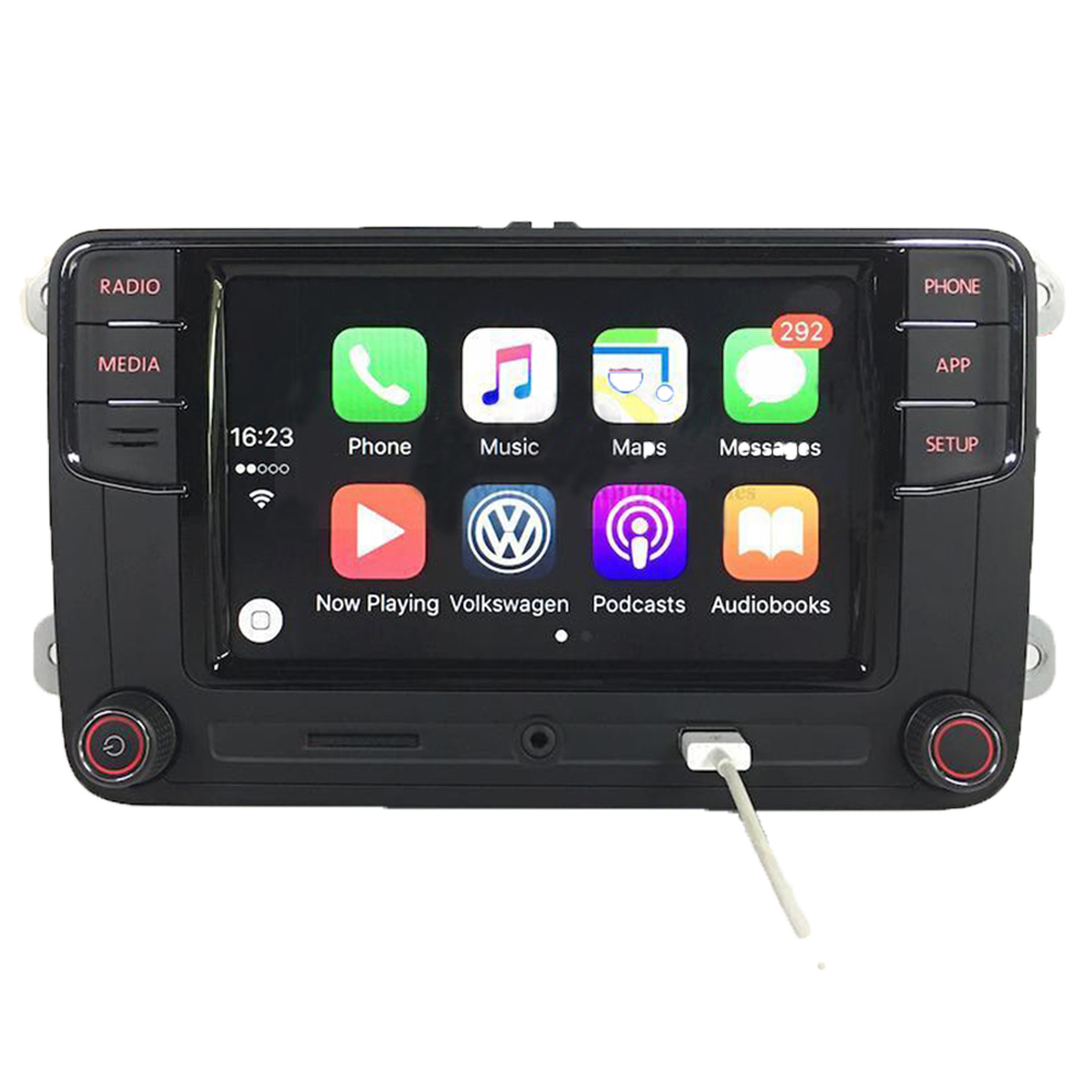 vw autoradio rcd330 mit gateway carplay mirrorlink bt usb. Black Bedroom Furniture Sets. Home Design Ideas