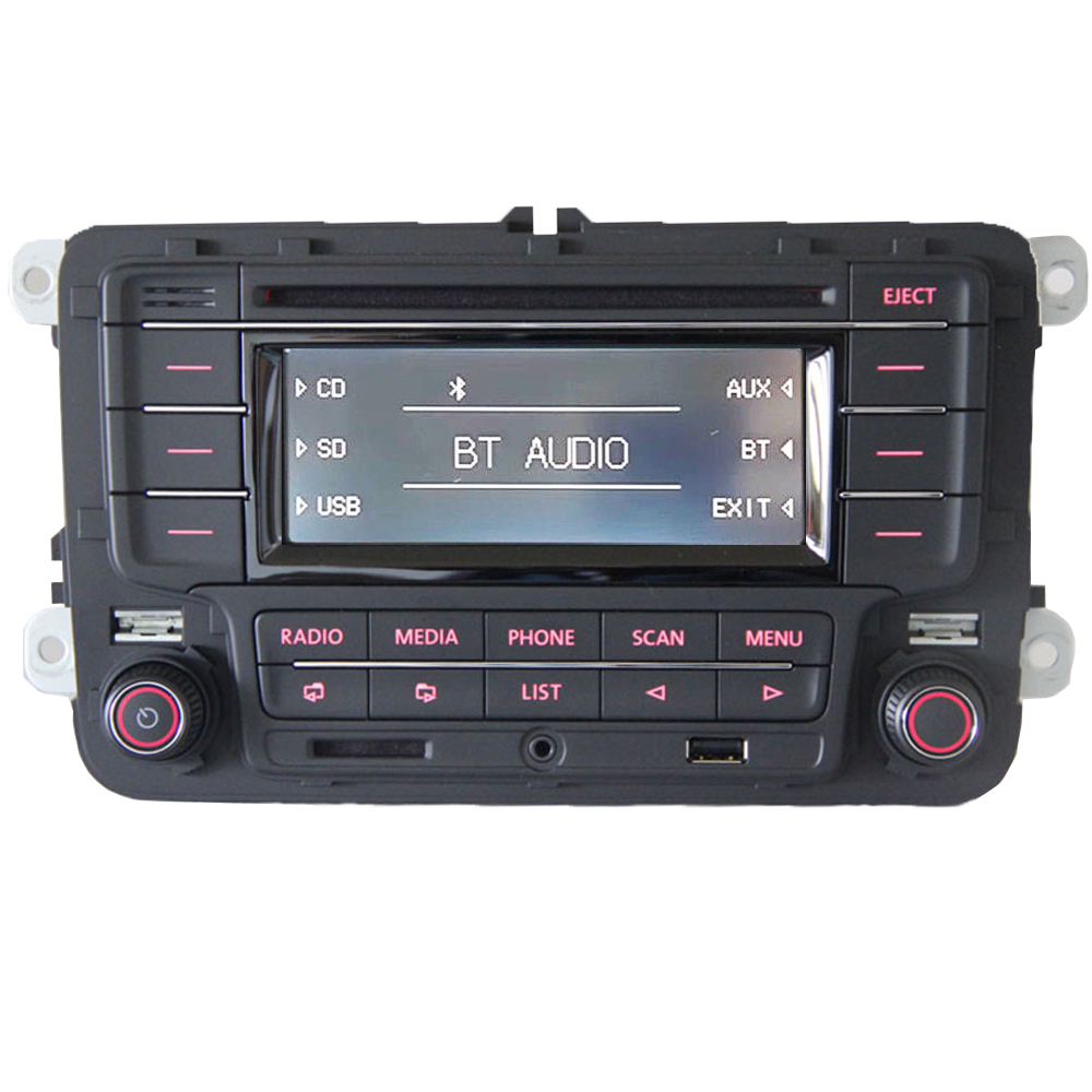 vw autoradio rcn210 bt cd mp3 usb aux sd golf touran. Black Bedroom Furniture Sets. Home Design Ideas