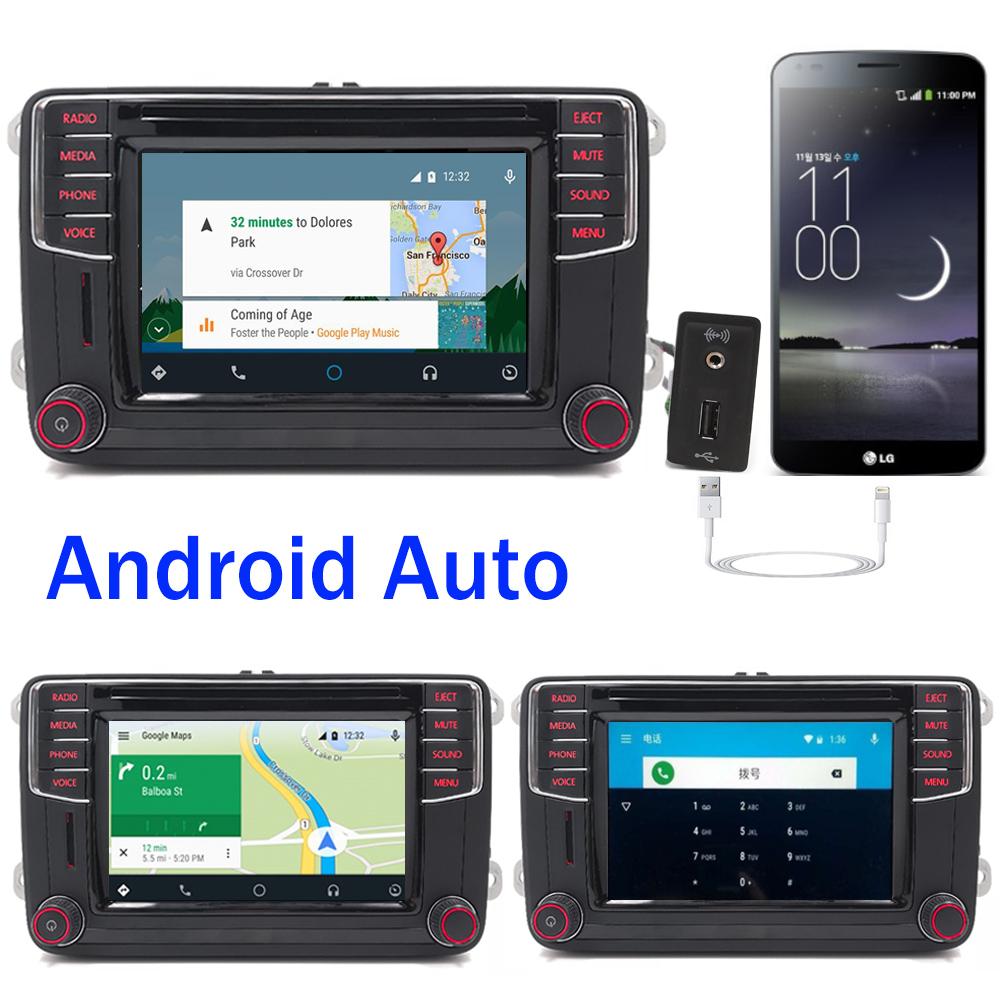 autoradio rcd330 mib200f carplay android auto bt cd usb. Black Bedroom Furniture Sets. Home Design Ideas