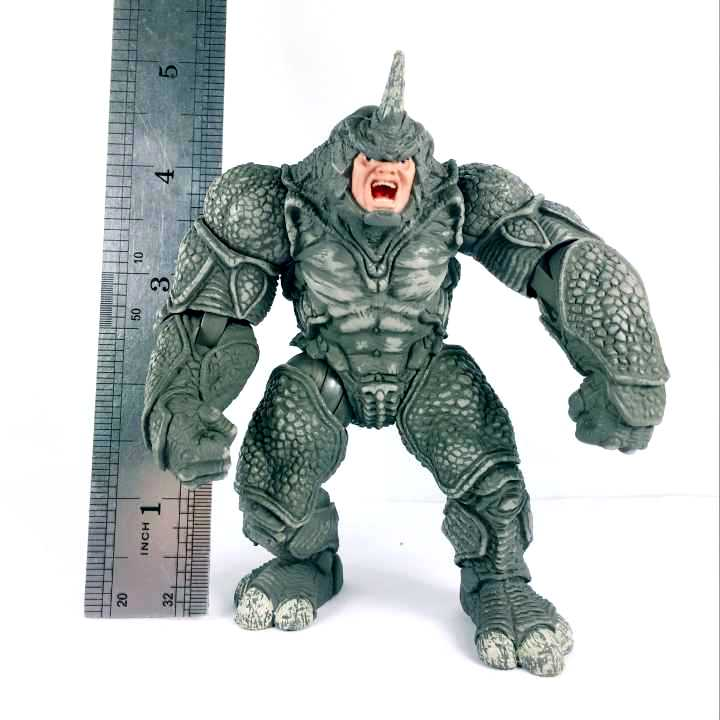 """Avengers 4.5/""""  Action Figure Marvel Universe Power Charge Rhino Spider-man"""