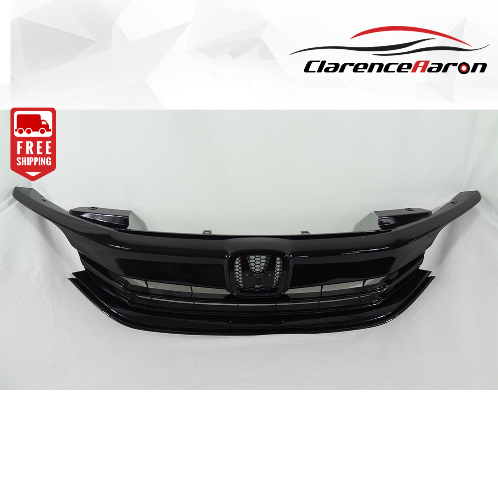 Fits For Honda 2016 2017 Accord Front Upper Bumper Hood