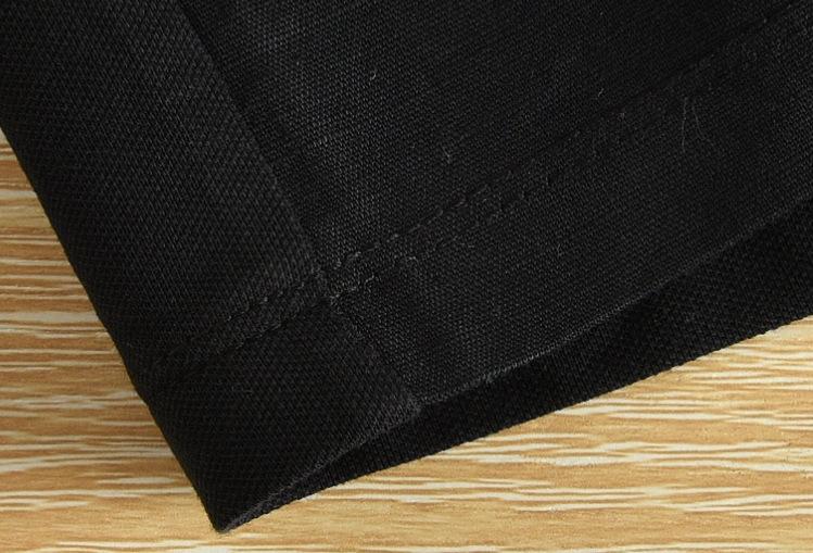 Summer-Mens-Linen-T-Shirts-Slim-Fit-Casual-Travel-Fashion-White-Black-Thin-Shirt