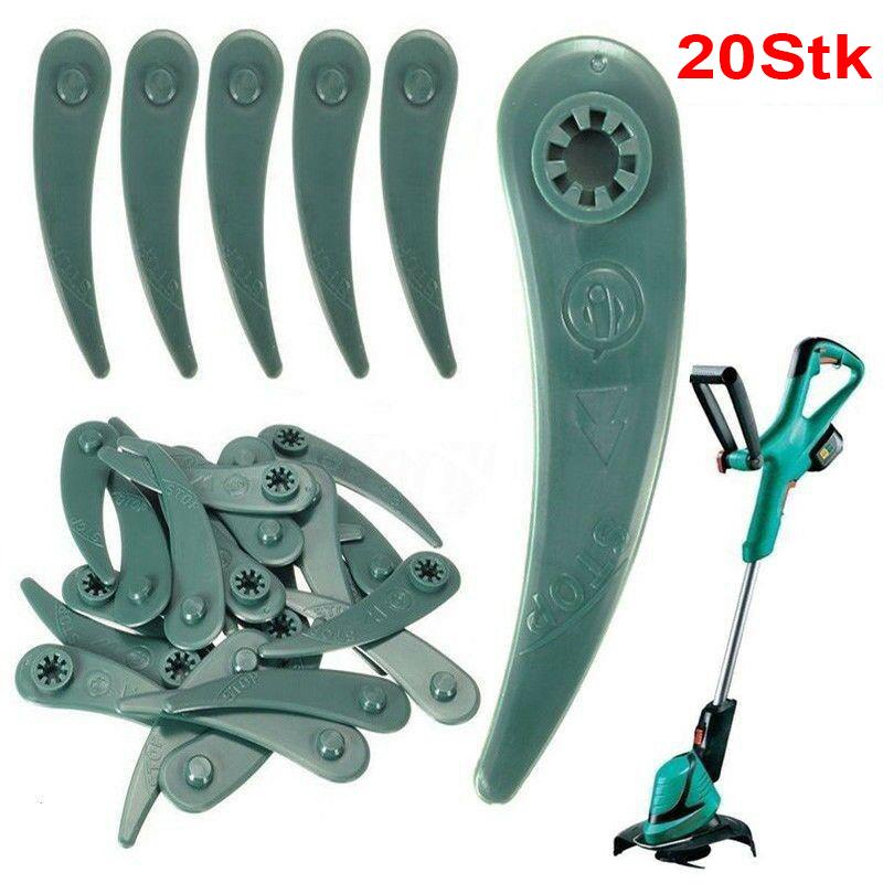 Ersatzmesser für Bosch Art 26 Art26 Li Rasentrimmer Kunststoffmesser Messer